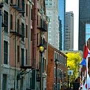 Boston Custom House Poster
