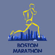 Boston Marathon5 Poster