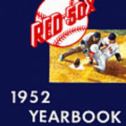 Boston Red Sox 1952 Yearbook Poster