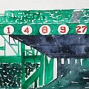 Boston Retired Numbers Poster