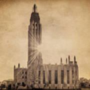 Boston United Methodist Church Poster