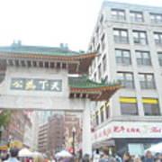 Boston's Chinatown  Poster