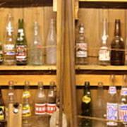 Botellas Antiguas Poster