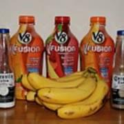 Bottles N Bananas Poster