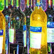 Bottles Of Wine Poster