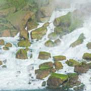 Bottom Of American Niagara Falls Poster