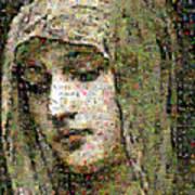 Bouguereau - Modestie Poster