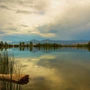 Boulder County Colorado Calm Before The Storm Poster