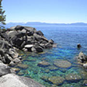 Boulder Cove On Lake Tahoe Poster