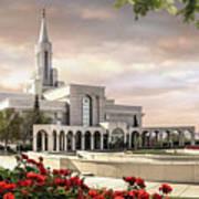 Bountiful Temple Poster