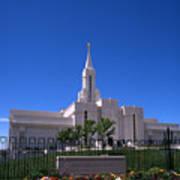 Bountiful Utah Temple Poster
