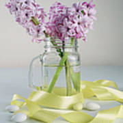 Bouquet Of Hyacinth Poster