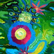 Bouquet Tropical Poster