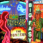 Bourbon Street Neon Poster