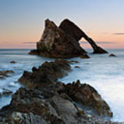 Bow Fiddle Rock At Sunset Poster