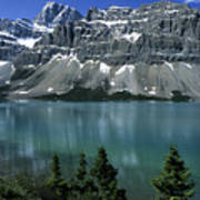 Bow Lake Area Poster