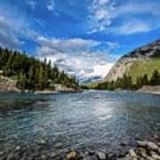 Bow River Alberta Poster