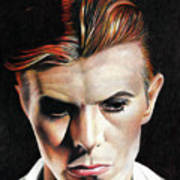 Bowie Thin White Duke Poster