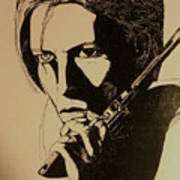 Bowie's Got A Gun Poster