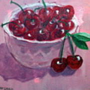 Bowl Of Cherries Poster
