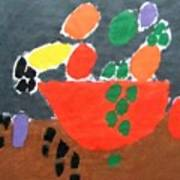 Bowl Of Fruit Poster