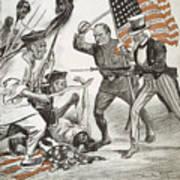 Boxer Rebellion Cartoon Poster