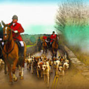 Boxing Day Hunt Poster