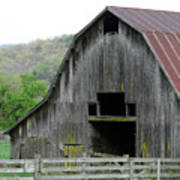 Boxley Valley Barn Poster