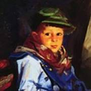 Boy With A Green Cap Also Known As Chico 1922 Poster
