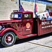 Boyle Racing Headquarters  Poster