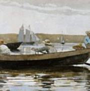 Boys In A Dory, By Winslow Homer, Poster