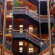 Bradbury Building Atrium Poster