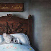 Brahms' Lullaby Poster