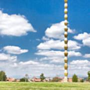 Brancusi's Infinite Column Poster by Gabriela Insuratelu