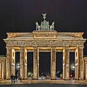 Brandenburg Gate Poster by Joachim G Pinkawa