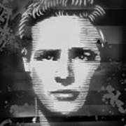 Brando Odyssey Black And White Poster