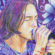 Brandon Boyd Poster by Joshua Morton