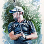 Branden Grace Watercolor Poster