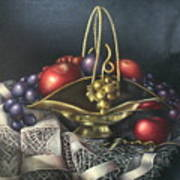 Brass Basket Poster