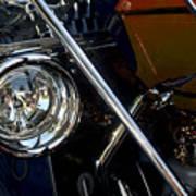Brass Era Headlamp Poster