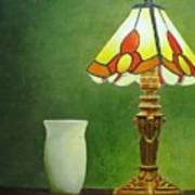Brass Lampshade Poster