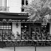 Brasserie Early Morning Poster