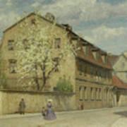 Braune Weimar Poster by Christoph Martin Weiland