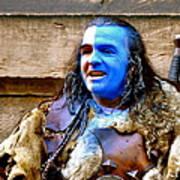 Braveheart Busker In Edinburgh Poster