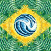 Brazil Wave 01 Poster