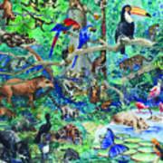 Brazilian Forest Poster