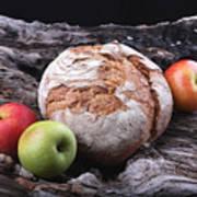 Bread Landscape Poster