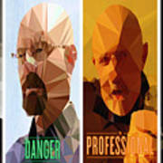 Breaking Bad Polygons - 496 Poster