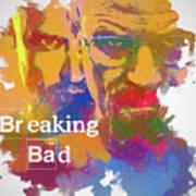 Breaking Bad Watercolor Poster