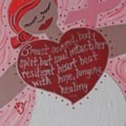 Breast Cancer Goddess Poster
